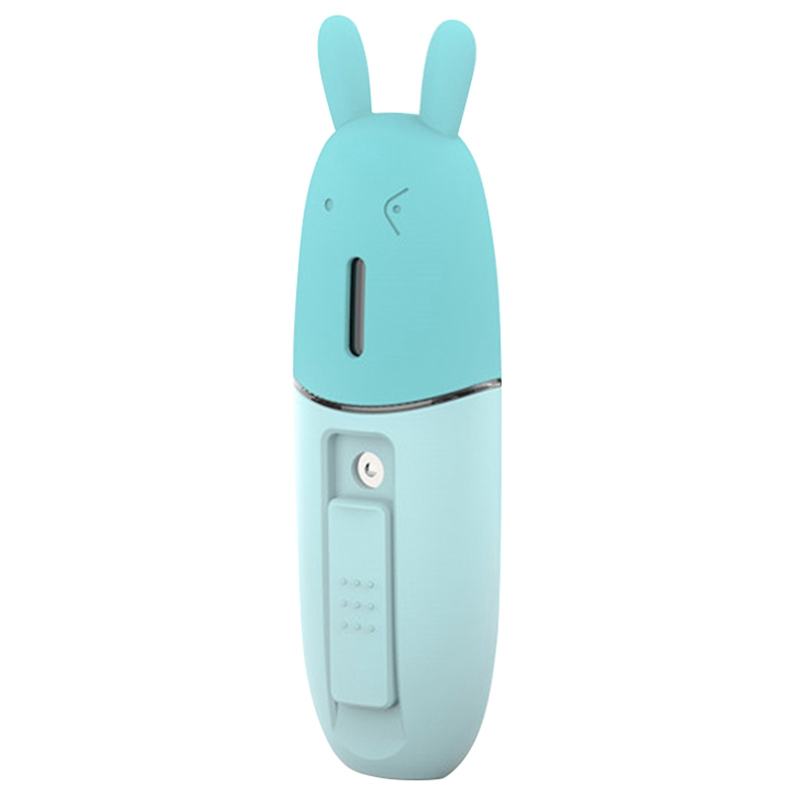 Portable Facial Humidifier Usb Mini Handheld Ultrasonic Humidifier Mist Maker Fog Ger Diffuser For Face Steam Humidifiers     - title=