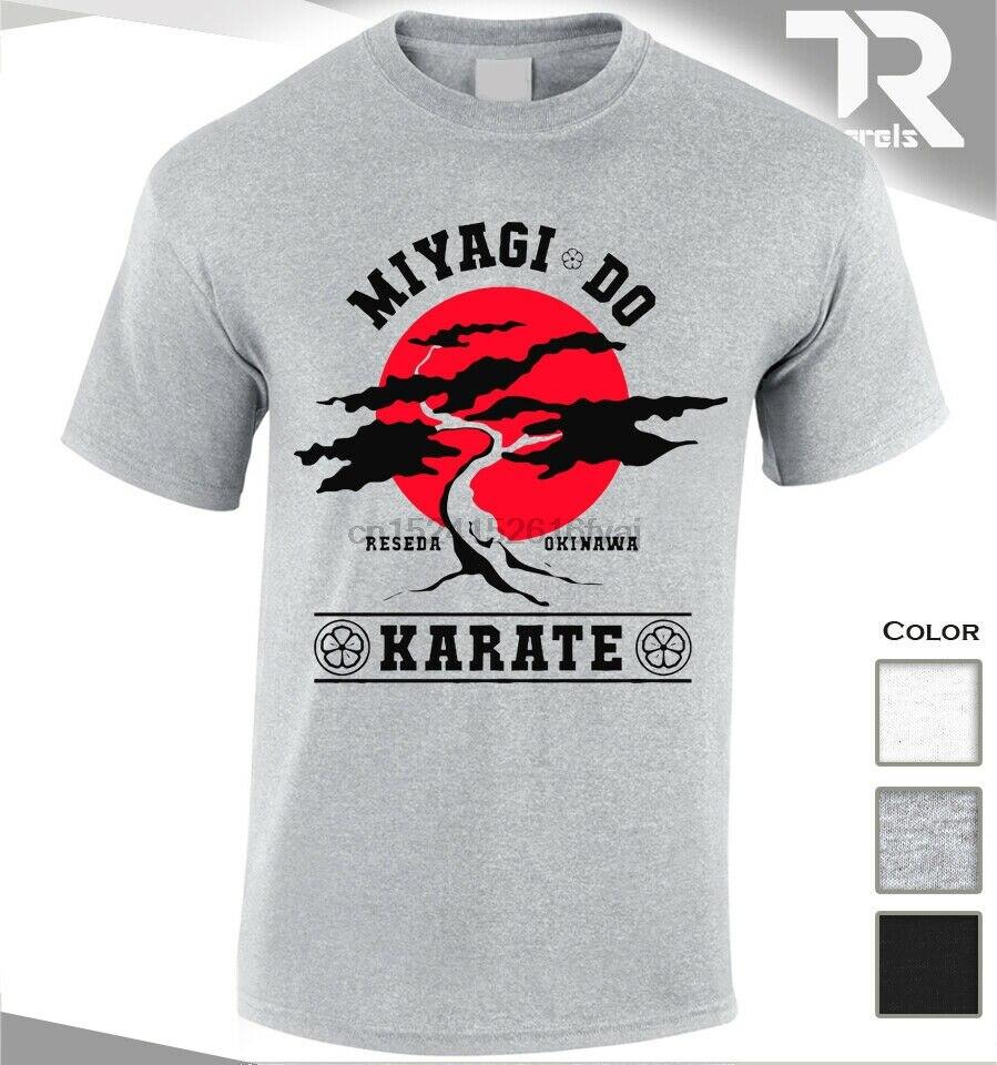 New Miyagi Do Karate Bonsai Tree T Shirt Karate Kid Martial Arts Japan Fighter T Shirts Aliexpress