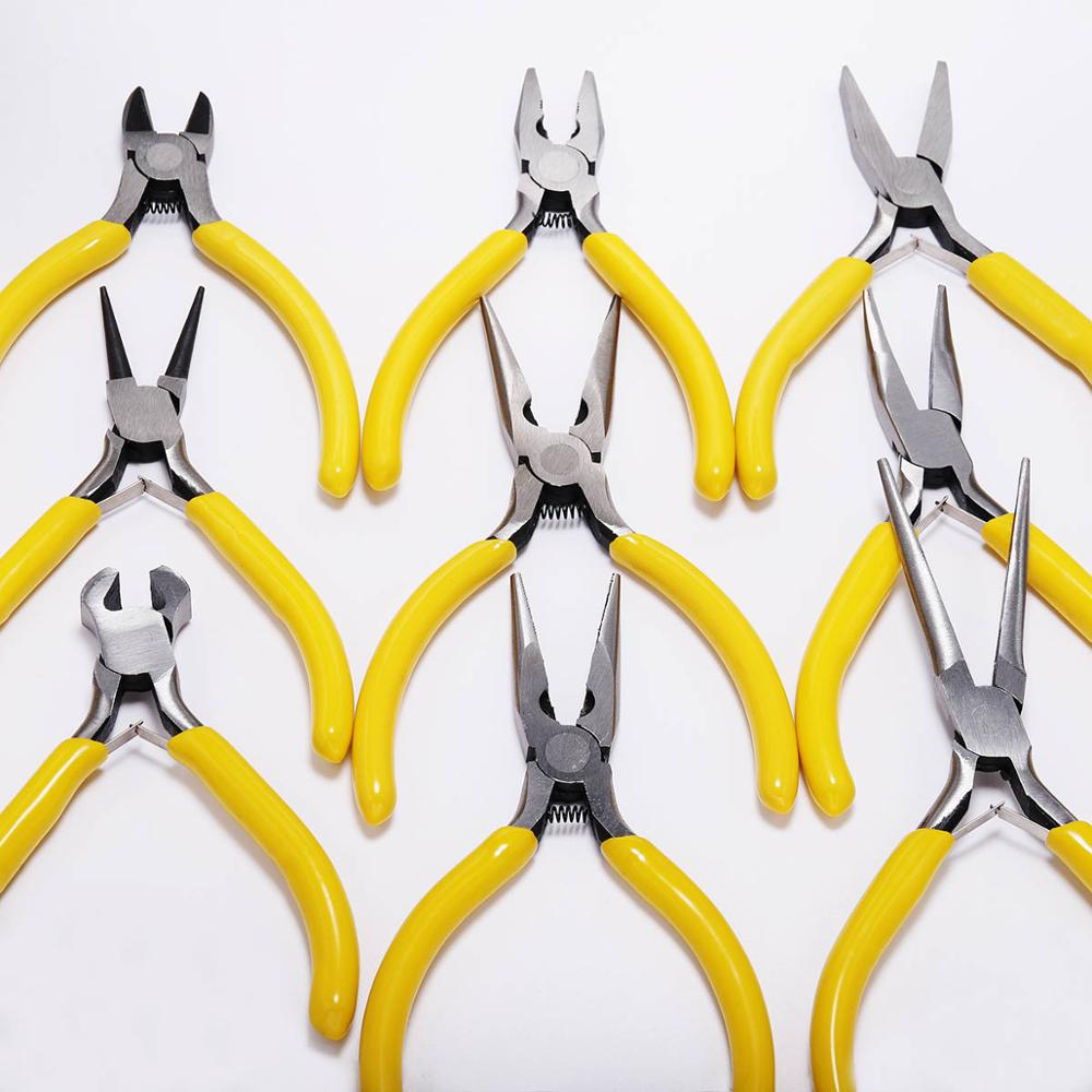 Jewelry Pliers Tools & Equipment Kit Long Needle Round Nose Cutting Wire Pliers For  Jewelry Making DIY Tool Accessories
