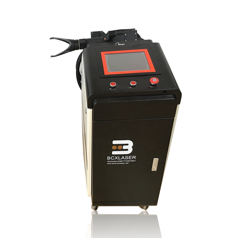 China <font><b>100W</b></font> 200W 50W 1000W Fiber <font><b>Laser</b></font> Cleaning Machine for Metal Rust Removal; Oil paint rust <font><b>laser</b></font> remove machine image