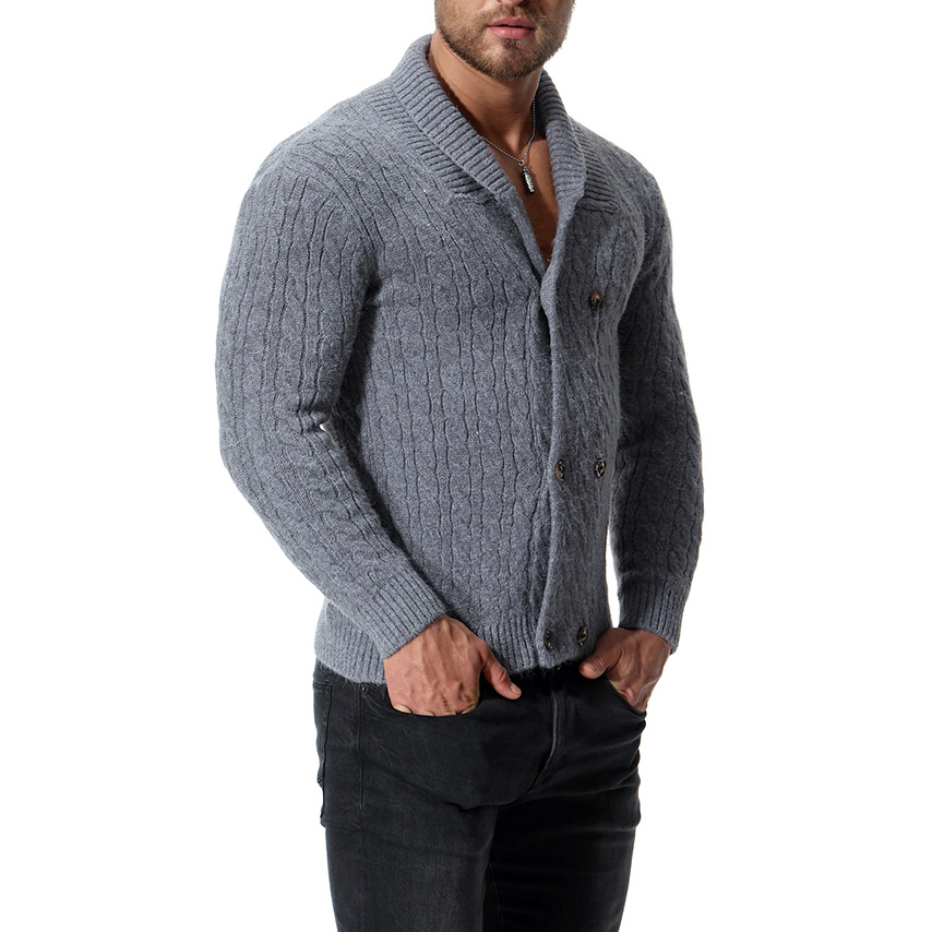 Varsanol Cotton Sweater Men Long Sleeve Pullovers Outwear Man  Sweaters