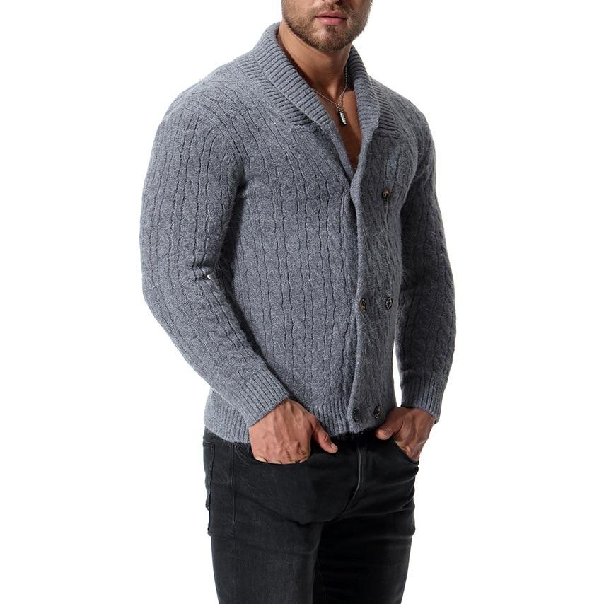 Varsanol Cotton Sweater Men Long Sleeve Pullovers Outwear Man  Sweaters
