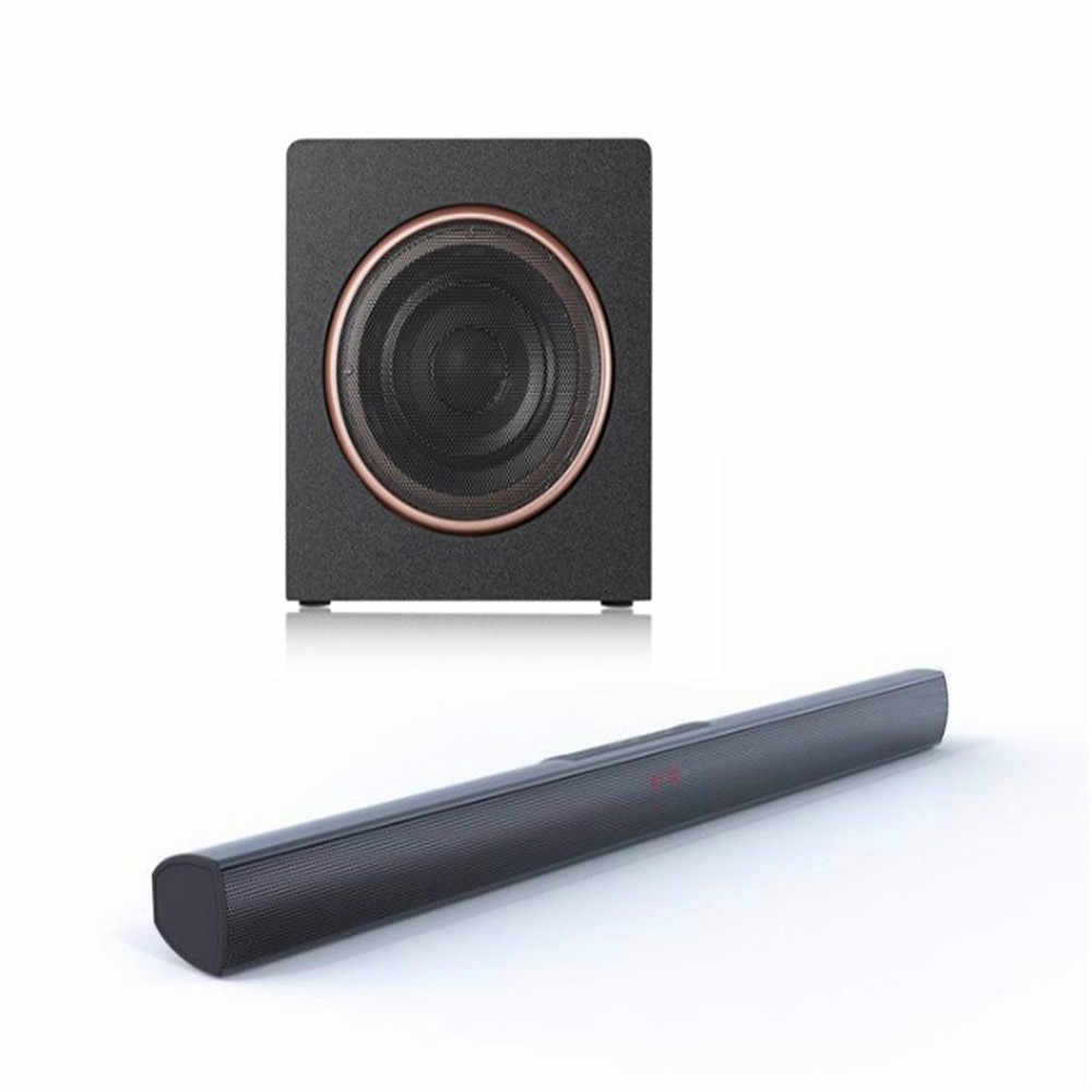 Aluminium Sound Bar Für Tv Home Cinema Audio System Mit Subwoofer Musik Zentrum 70W Bluetooth Lautsprecher Set Musik Spalte touch