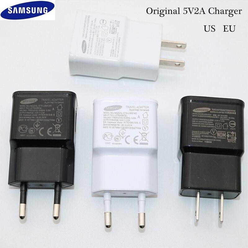 Зарядное устройство для Samsung, дорожный настенный адаптер 5 В, 2 А, зарядный кабель Micro USB для Samsung Galaxy S6, S7 Edge, J3, J5, J7, Note 4, 5, A3, A5, A7 2016