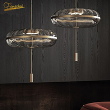 Modern LED Pendant Lamp Lighting Nordic Glass Pendant Lights Restaurant Hotel Bedroom Living Room Kitchen Hanging Lamp Device modern led pendant lights living room restaurant hang lamp aluminum remote control dimming hanging lighting fixture kitchen lamp