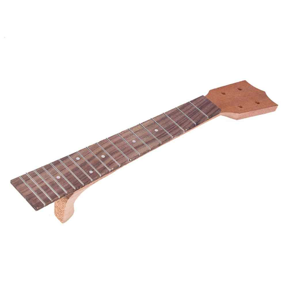 "21"" / 23"" / 26"" Ukulele Neck Body Rosewood Fingerboard for Ukulele Mini Guitar Display Stand Rack Accessories Instrument Part"