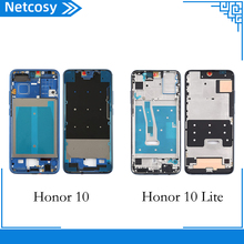Netcosy For Huawei Honor 10 10Lite Middle Plate Cover Housing case Middle Frame Bezel replacement part For Honor 10 10Lite