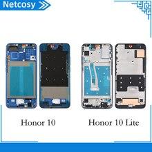 Netcosy pour Huawei Honor 10 10Lite plaque moyenne couvercle boîtier cadre moyen lunette pièce de remplacement pour Honor 10 10Lite