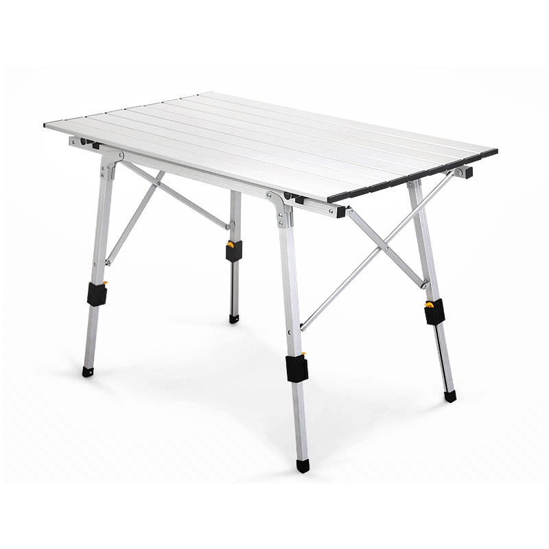 Picnic Table Chair Aluminium-Alloy Outdoor Camping Waterproof Folding Table Desk For 90*53cm