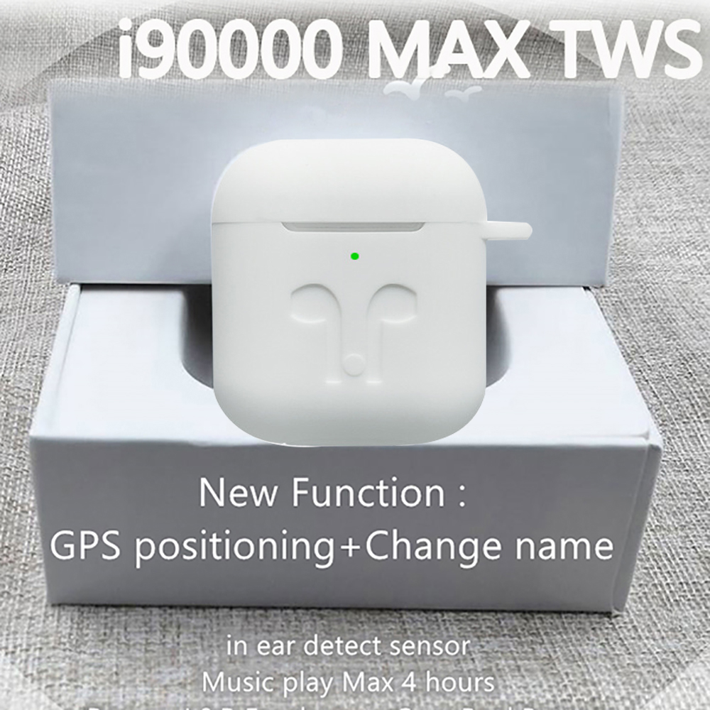 <font><b>Original</b></font> <font><b>i90000</b></font> Max <font><b>TWS</b></font> Air 2 change name location Bluetooth headset in-ear sensor PKi90000Pro i1000 i2000 i9000X i5000 i9000TWS image