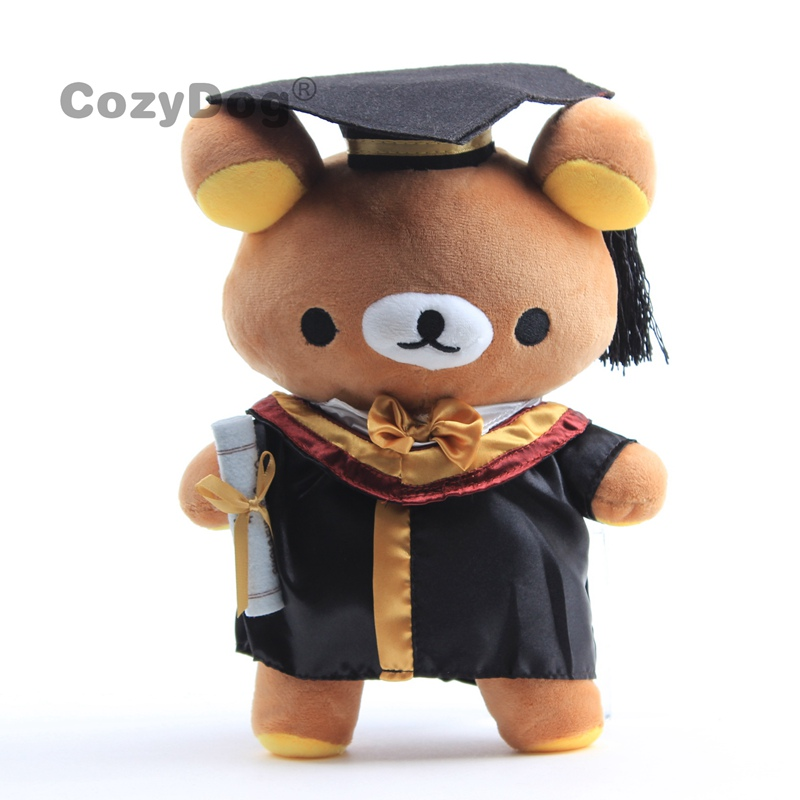 28cm Teddy Bear Plush Toys Doll Kawaii Dr. Rilakkuma Bear/Easy Bear Stuffed Animals Toys Baby Kids Christmas Birthday Gift