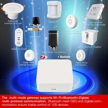 Tuya ZigBee3.0 Bluetooth Smart Multimode Gateway Smart Multi-mode Gateway Igbee Gateway Hub Remote Control DC5V Smart Gateway