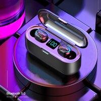 TWS Mini Bluetooth 5,0 Headset Surround Sterero Loseless Keine Verzögerung Gaming Kopfhörer Wasserdicht Sport Ohrhörer Kopfhörer Led-anzeige