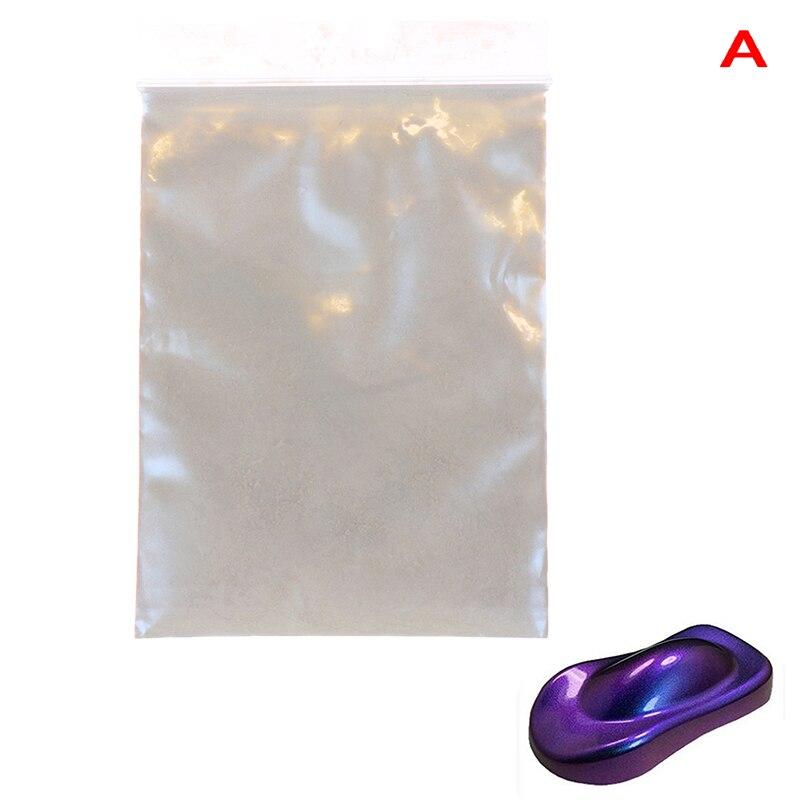 Хамелеон пигмент, блеск для ногтей жемчужный порошок Набор под блески для дизайна ногтей маникюрный набор Советы украшения, автомобильные ремесла, 10 г - Цвет: A