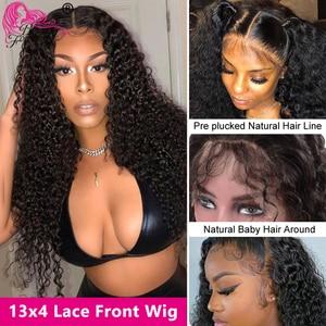 Image 2 - Beautyforever malaio peruca de cabelo encaracolado 13*4/6 perucas da parte dianteira do laço 100% remy cabelo humano perucas da parte dianteira do laço 150%/180% densidade perucas do laço