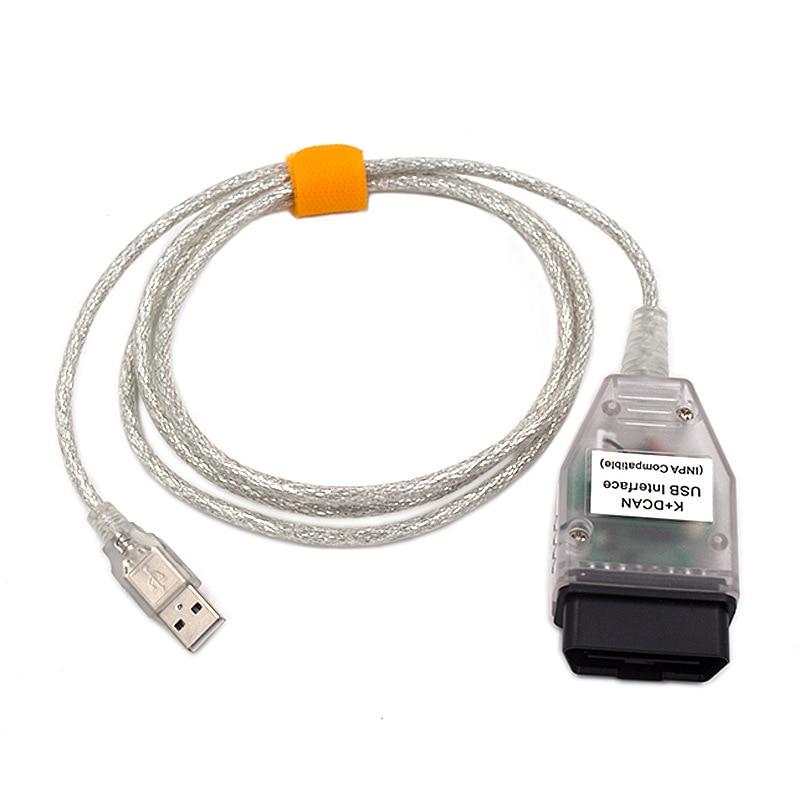 OBD 2 Für BMW INPA K + CAN K KANN INPA FT232RL Schalter VSTM OBD2 Diagnose Kabel für BMW INPA K DCAN 20PIN Usb-schnittstelle Kabel