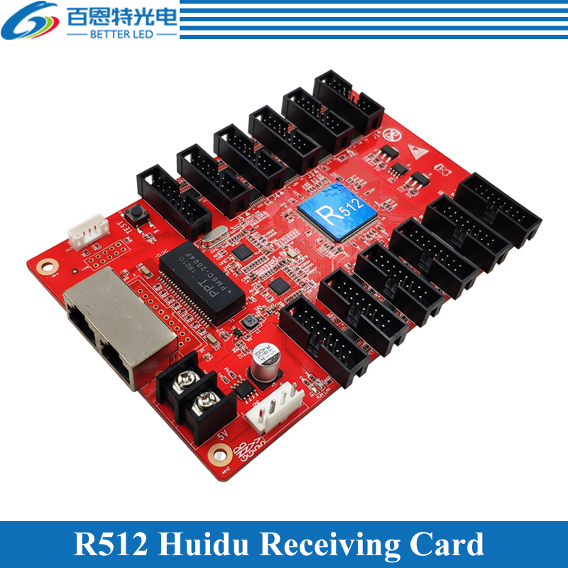 Huidu Full Color LED Display Receiving Card Work With C15, C35, A601-2-3, A3-4-5-6, T901 Etc