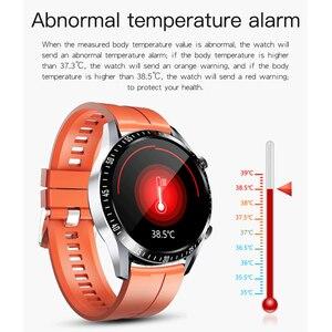 Image 4 - Montre connectée de sport pour hommes, étanche IP67, avec appels vocaux, fréquence cardiaque, pression artérielle, oxygène, lampe de poche, pour téléphone, MV55