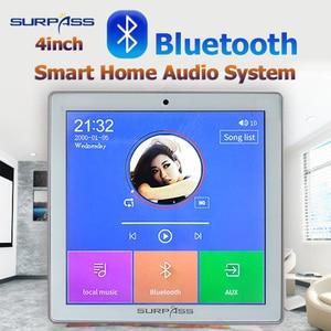 Image 2 - 스마트 홈 멀티미디어 미니 블루투스 벽 오디오 스크린 앰프 24 채널 무선 음악 센터 사운드 cenima 시스템 태블릿 usb