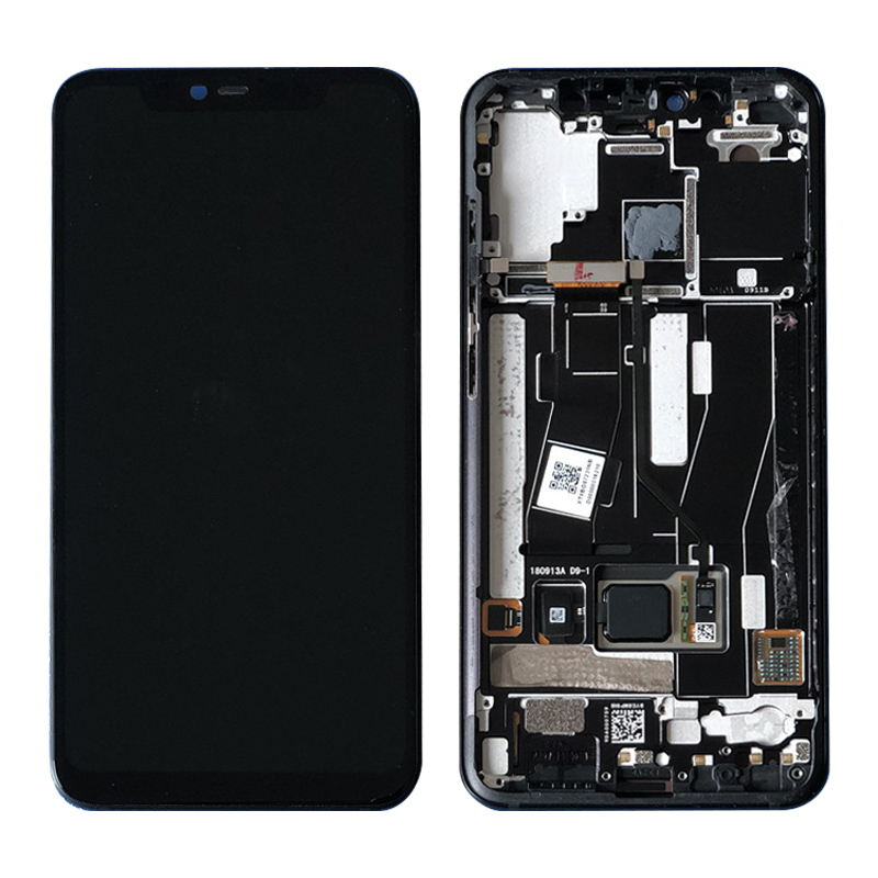 Original LCD For <font><b>Xiaomi</b></font> <font><b>Mi</b></font> <font><b>8</b></font> Pro Mi8 Pro LCD <font><b>Display</b></font> Touch Screen Digitizer Assembly + Frame For <font><b>Xiaomi</b></font> <font><b>8</b></font> Pro LCD <font><b>Display</b></font> image