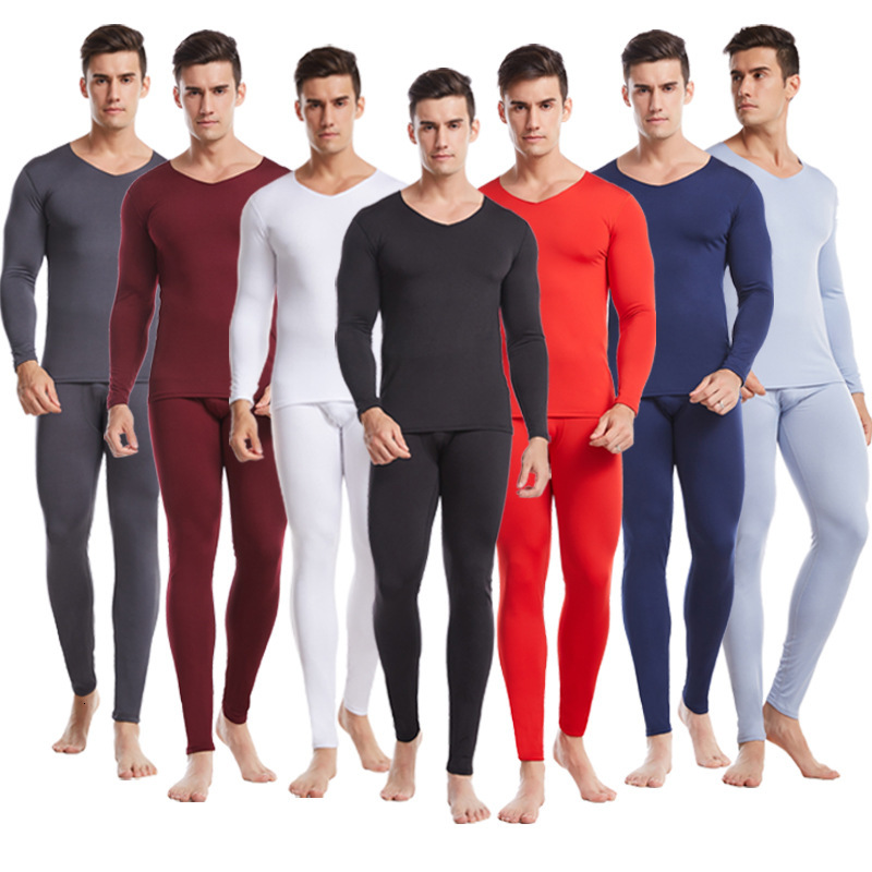 2019 Man Keep Warm Underwear Season Cold-proof Long Johns Ephebe Comfortable Keep Warm Suit