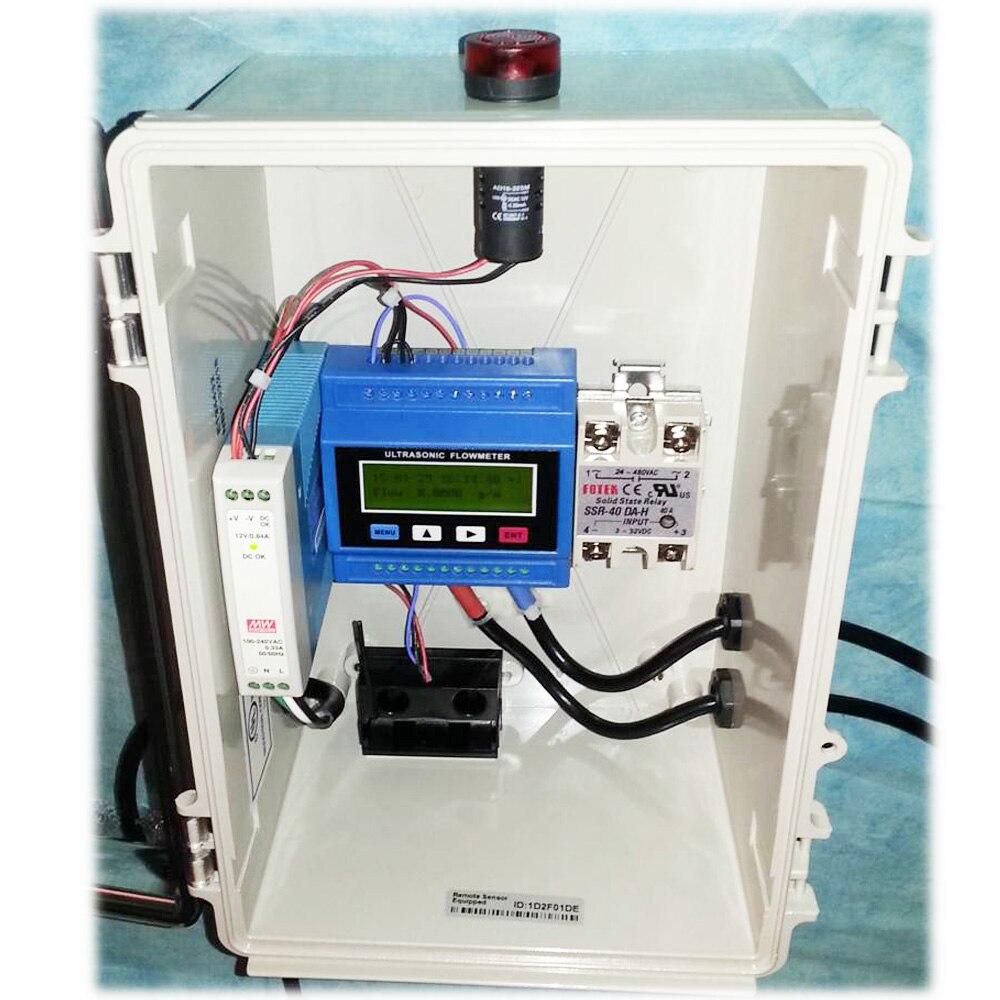 Ultrahangos folyadék áramlásmérő TUF-2000M DN50-700mm modulos - Mérőműszerek - Fénykép 5