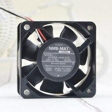 Original For NMB 6CM 6025 2410SB-05W-S79 60*60*25mm DC 24V 0.17A inverter cooling fan new original dv6224 2 24v original plug inverter fan 55kw 75 90kw