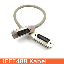 IEEE488 kabel GPIB line industrial control motherboard connection line IEEE488 data line 0.5m/1m/1.5m/2m цена