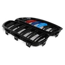 Calandre de course noire brillante/M, 1 paire, accessoires de Style pour BMW série 3 F30 F31 F35 2012 – 2018