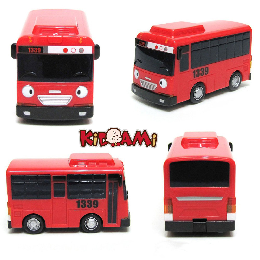 KIDAMI Korean Cartoon Bus Tayo Features Ejection Function, Bright Colors And Cute Shapes Of Children's Toys