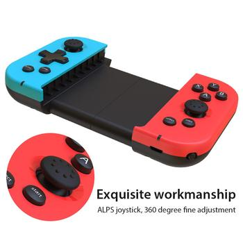Wireless Bluetooth Gamepad Stretchable Mobile Phones Gaming Joystick Controller For 3.5-6.5 Inch IOS Smart Phones Android Phone high performance mobile phones app solar controller inverter wireless controller