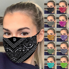 1PC Fashion Printing Mask Outdoor Anti Dust Foggy Smog Mouth Face Mask Cycling Windproof Mascarillas Masque lavable cubrebocas