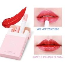 Portable Tobacco Tube Nude Red Lips Makeup Creative Cigarett