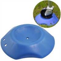 Durable RV bloque tapón plástico azul antideslizante Universal fácil de aplicar piezas de protección portátil caravana rueda de autocaravana