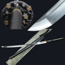 Samurai Sword Utility-Knife Japanese Katana Pattern-Steel Handmade Sharp Long Can Chop