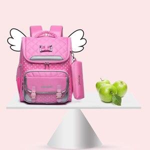 Image 5 - KOKO CAT Girls plecak szkolny tornister ortopedyczny podstawowe torby szkolne dla dziewczynek 9 14 lat Mochila Infantil Sac A Dos Enfant