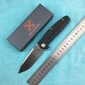 XY751 Новый Флиппер складной нож шарикоподшипник 14C28N лезвие льняная Ручка Кемпинг Охота Открытый Карманный Фруктовый Нож EDC инструмент