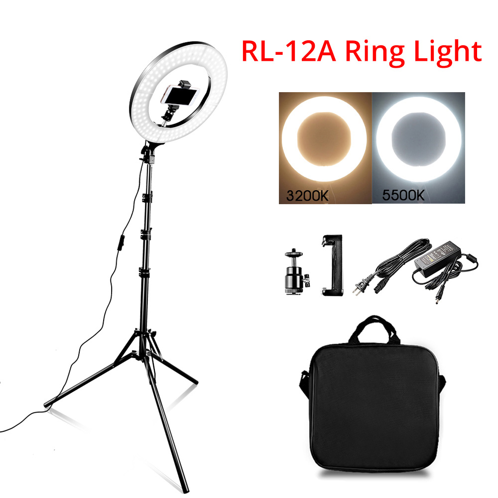 Ring Light LED Video Light Lamp with Tripod Stand 1
