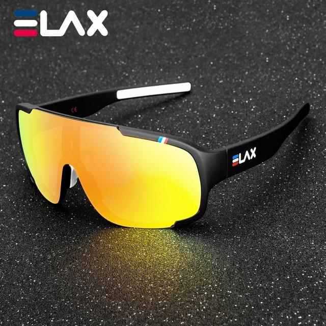 Elax marca 2019 novo óculos de ciclismo ao ar livre das mulheres dos homens uv400 mountain bike eyewear mtb bicicleta esporte ciclismo óculos de sol 1