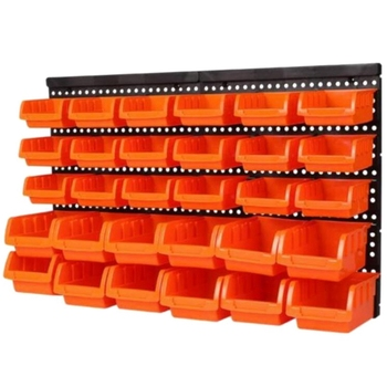 Promotion! Hardware Tools Hanging Plate Garage Workshop Storage Rack Screw Wrench Classification Parts Box Parts Box Instrument
