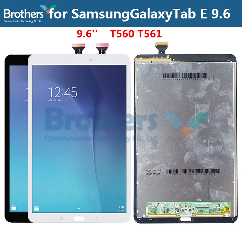 T560 Ctghgyiki Touch Screen Panel, iPartsBuy for Samsung Galaxy Tab E 9.6 T561 LCD Display Screen Replacement