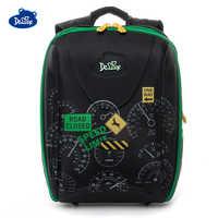 2019 Delune Brand Girls School Bags for Boys 7-111 3D Orthopedic Children School Backpack 5-8 Years 1-5 Grade Cartoon School Bag