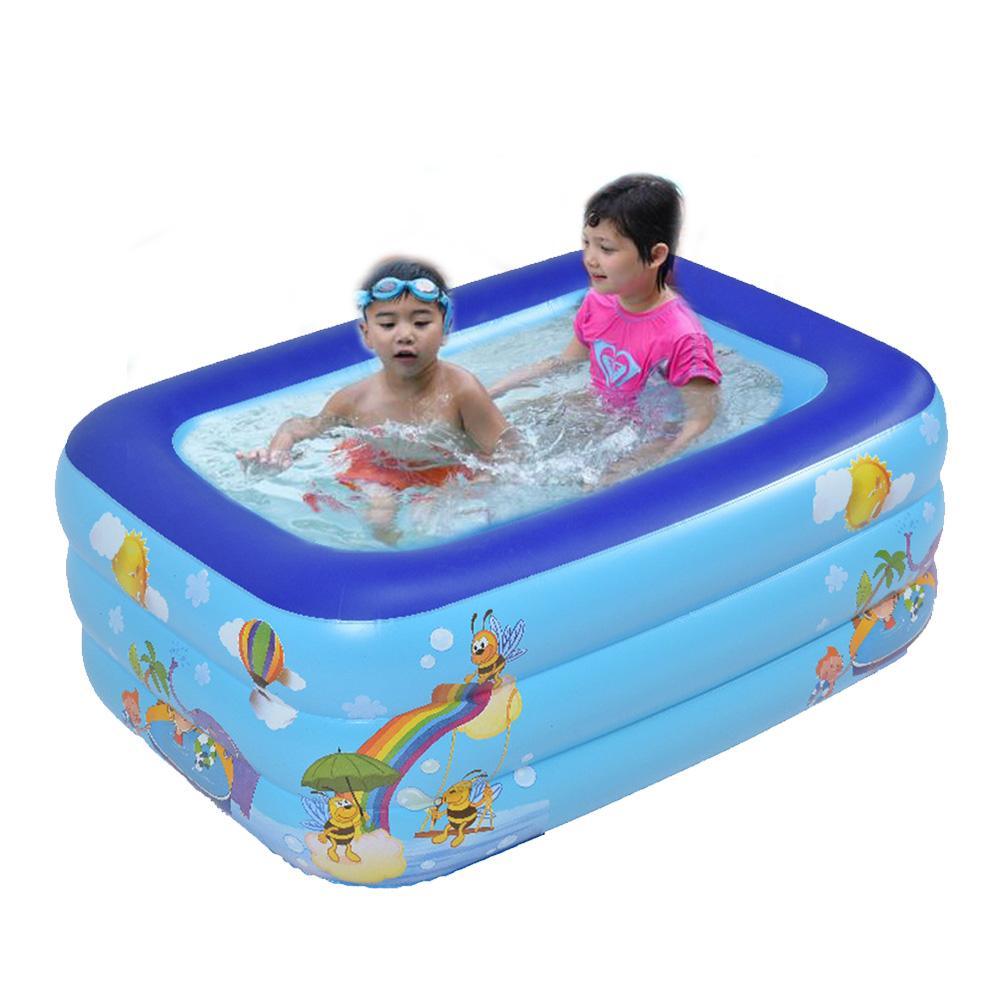 Inflatable Swimming Pool For Baby Thickened Water Playing Pool Indoor Kids Swimming Training Pool Foldable Portable Pool