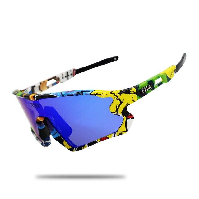 5 lente uv400 ciclismo óculos de sol tr90 esportes bicicleta mtb mountain bike pesca caminhadas equitação eyewear 4