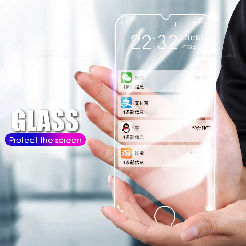 Protective Anti-Shock Screen Protectors For IPhone 6 6s 7 8 Plus 4 4s XR XsMAX Screen Protection For IPhone 5 5S SE X XS Max 11