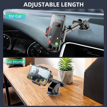Windshield Gravity Sucker Car Phone Holder For Phone Universal Mobile Support For iPhone Smartphone 360 Mount Stand in Car 3