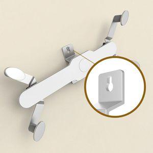 Image 5 - ユニバーサルアルミ合金タブレット壁マウントホルダースタンド 360 回転ロータリータブブラケット携帯電話 O26 19 ドロップシップ