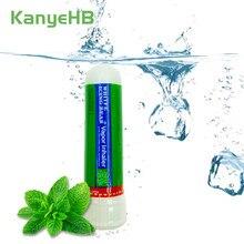 1 pçs tailândia inalador nasal vara creme de hortelã original nasal óleos essenciais rinite refrescante nariz dor de cabeça fria pomada fresca
