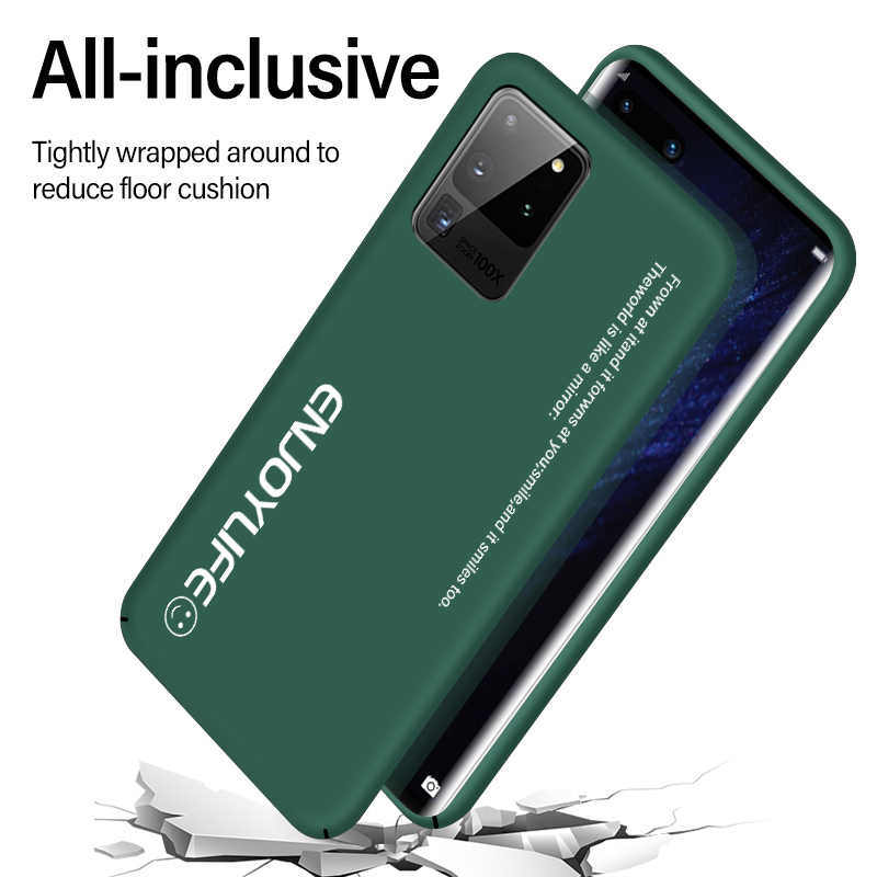 Ultra-thin Colorful Matte Hard PC Phone Case For Samsung Galaxy S20 S10 E 5G S9 S8 Note 10 9 Plus Cute Shockproof Frosted Cover 3
