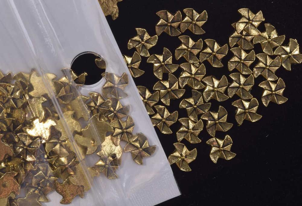 50 шт 8 стилей античные бронзовые медовые пчелы амулеты для ногтей деко пчела Шарм для ногтей Гель-лак дизайн/ювелирные изделия ремесла амулеты, JH-44